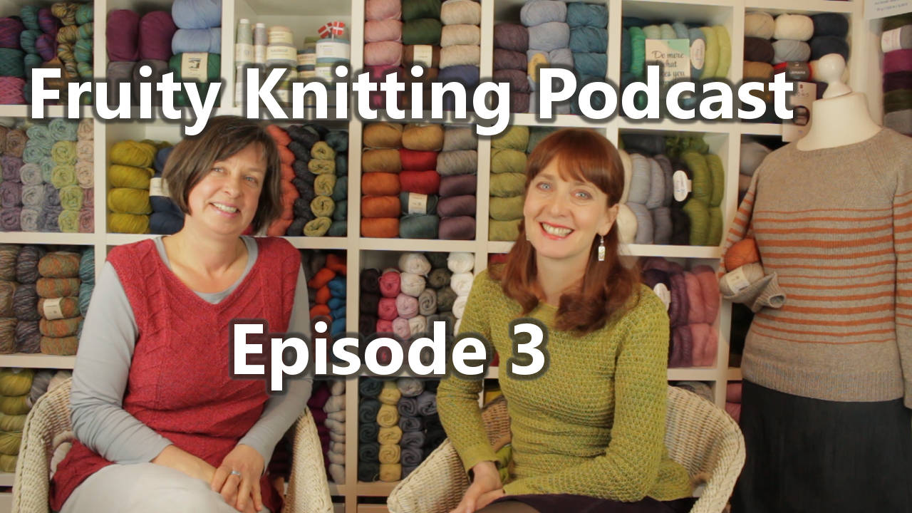 Danish Designers, Australian Magpies - Fruity Knitting Podcast Episode 3