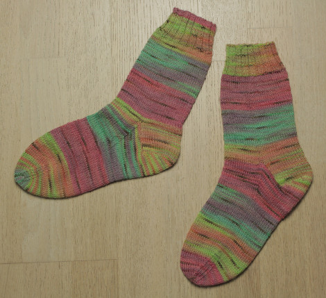 Andrew's socks - Project Number Two!