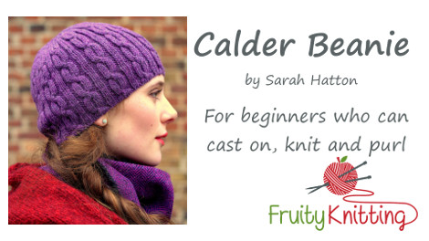 Click on the image to watch the tutorial for the Calder Beanie.