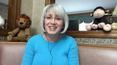 Lorraine Pistorio - Designer of beautiful hand-knitted children's toys