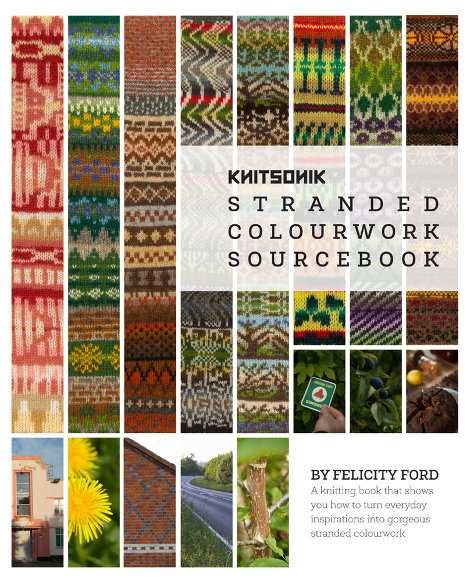 Cover of the KNITSONIK Standed Colourwork Sourcebook
