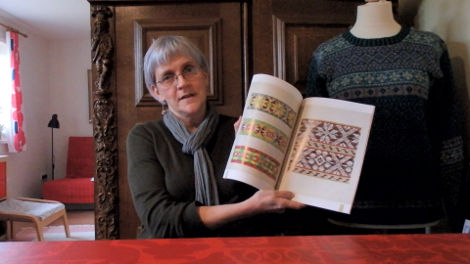 A Shetlander's Fair Isle Graph Book, from the Shetland Guild of Spinners, Knitters, Weavers and Dyers
