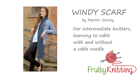 Windy Scarf by Martin Storey - Click on the image to view the video tutorial