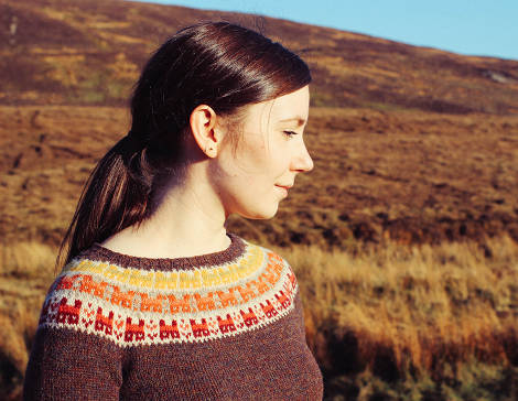 Shetland designer Ella Gordon