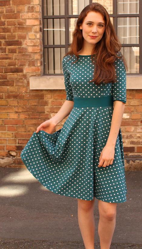Zoé Dress by Lillestoff, for Madeleine