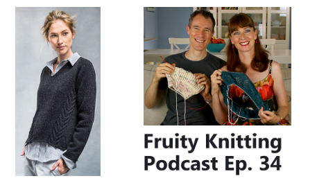 Episode 34 - Veronik Avery - Fruity Knitting Podcast