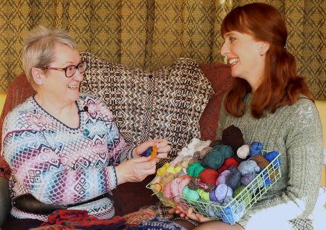 Episode 39 - Shetland Wool Week - Fruity Knitting