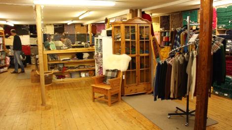 The Jamieson & Smith store in Lerwick, Shetland