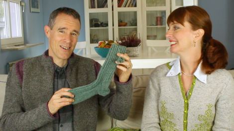 What a splendid sock.