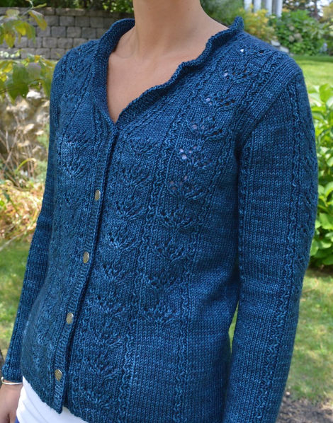 Meadowbrooks Cardigan by Valerie Hobbs of Laughingstar Knits