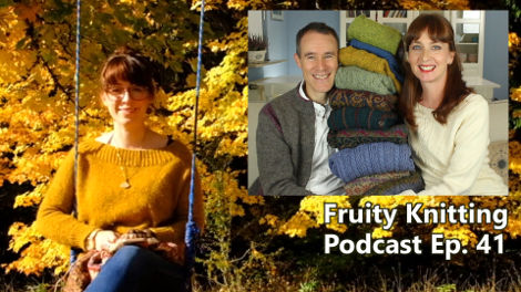 Caitlin Hunter of Boyland Knitworks - Ep. 41 - Fruity Knitting Podcast