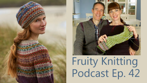 Fruity Knitting Podcast - Marie Wallin - Episode 42