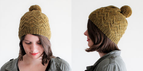 Dulwich Hat by Jessica Gore of The Sweater Collective