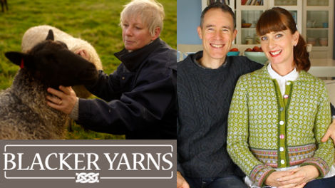 Sue Blacker is our guest on Episode 43 of the Fruity Knitting Podcast