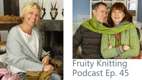 Fruity Knitting Podcast, with Isabell Kraemer