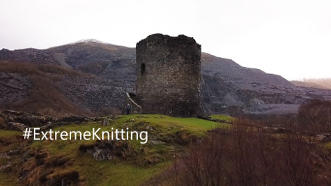 Dolbadarn Castle in Northern Wales