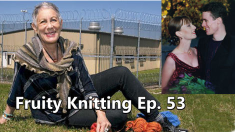 Knitting Behind Bars is the program set up by our interview guest Lynn Zwerling
