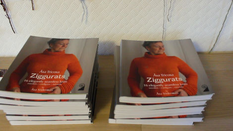 Freshly printed Ziggurat books.