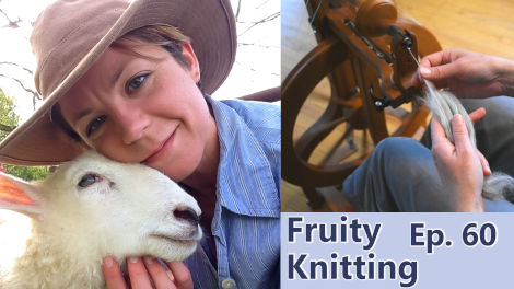 Kate Larson, shepherdess and spinning expert, is our guest on Episode 60.