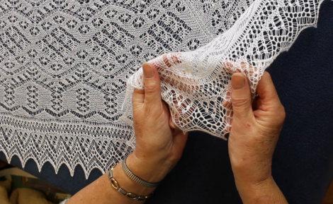 Episode 64 Shetland Fine Lace Knitting Fruity Knitting
