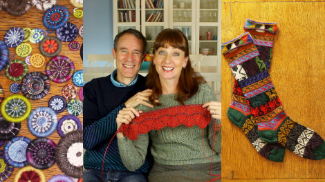 Episode 65 - Dorset Buttons & Peruvian Knitting