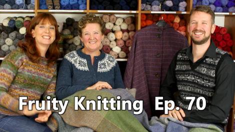 Episode 70 - Jamieson's of Shetland & Di Gilpin on Ganseys