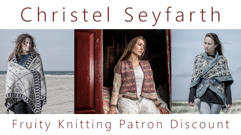 Christel Seyfarth - Fruity Knitting Patron Discount