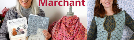 Episode 92 - Nancy Marchant - Tuck Stitches, Brioche Lace