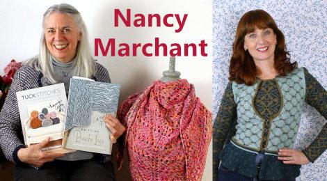 Episode 92 - Nancy Marchant - Tuck Stitches, Brioche Lace